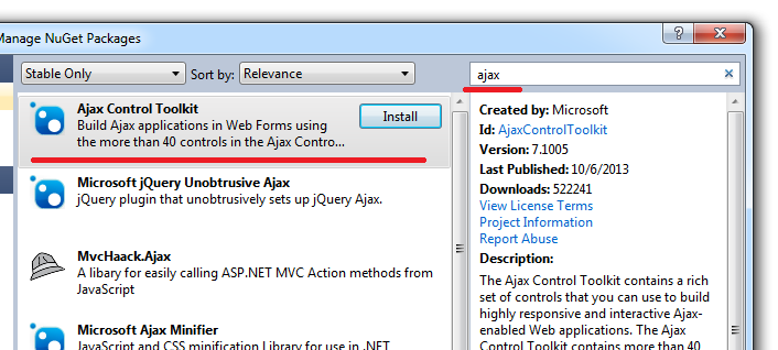 How-to-add-install-AjaxControlTookit-in-asp-net-website