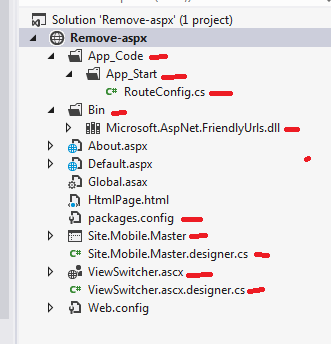 Easiest way to remove .aspx from url in asp.net