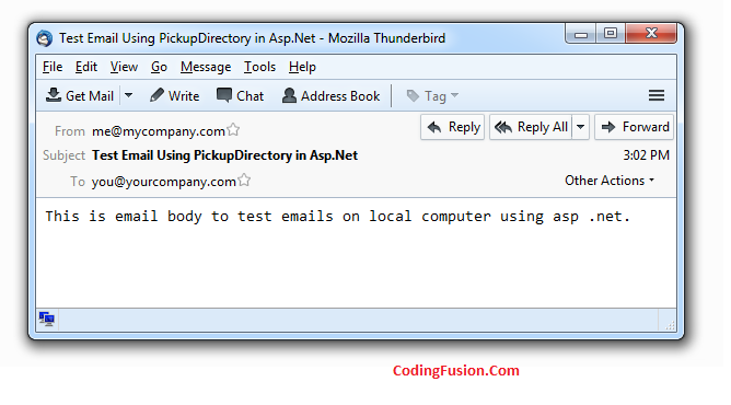 Send Emails in asp .net without internet connectivity using SpecifiedPickupDirectory