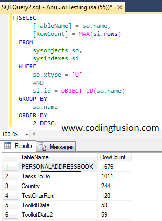 75 Important queries in SQL Server every developer should know
